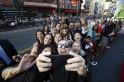 Ricky Gervais selfie