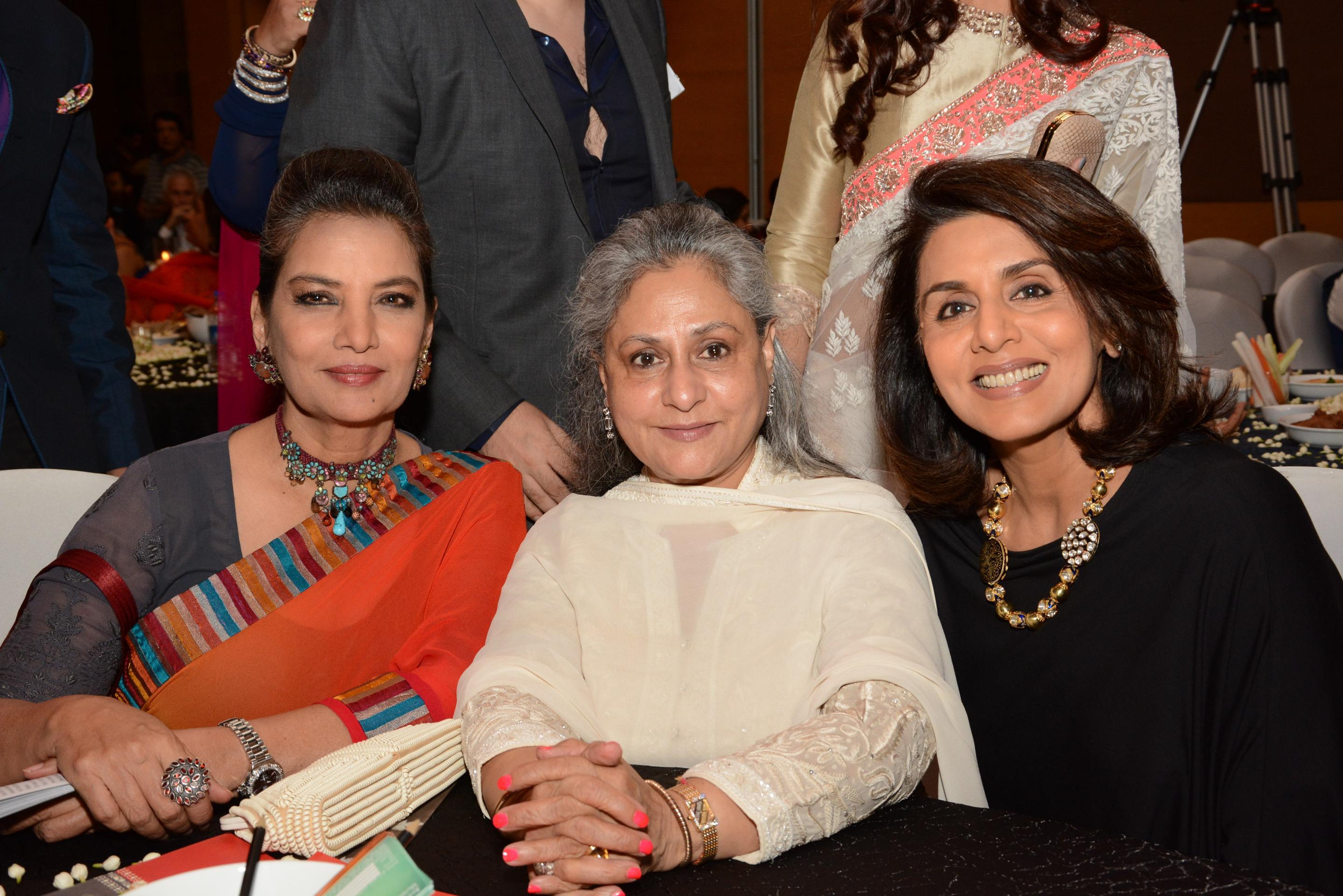 Shabana Azmi, Jaya Bachchan and Neetu Singh