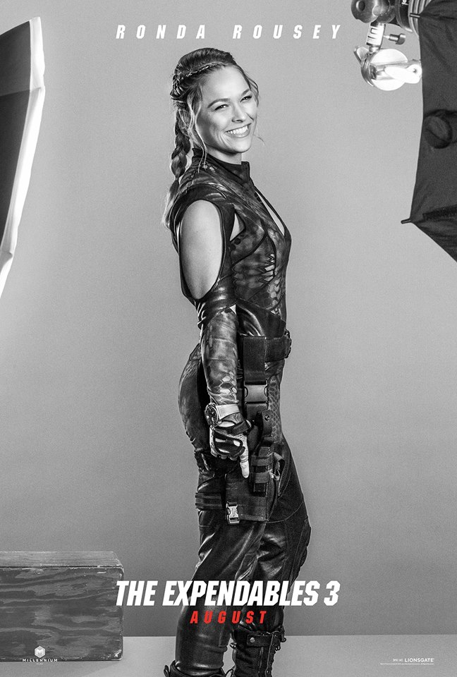 Ronda Rousey is Luna: She may be the only female member of The Expendables... but she could get every one of them to tap out