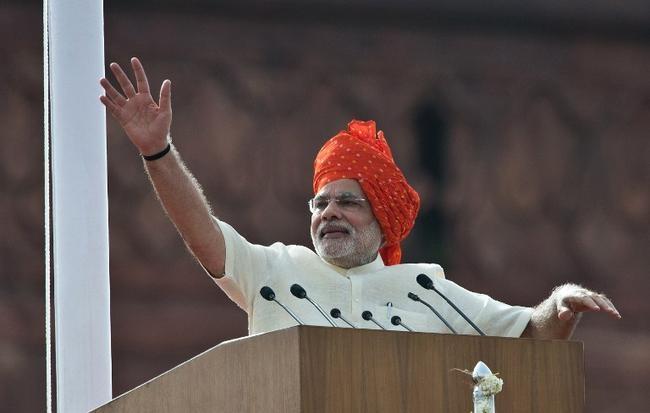 Modi addresses the nation