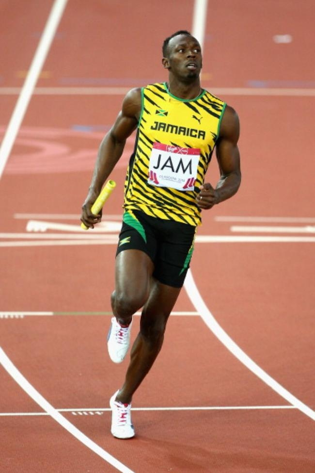 Usain Bolt Shines @ CWG Debut