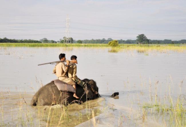 Floods Strike North India