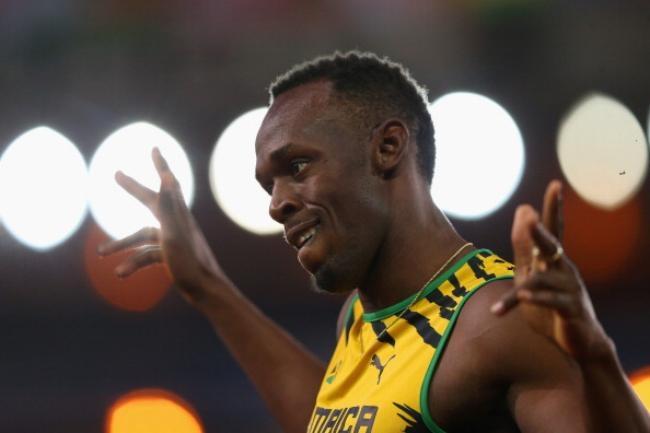 Usain Bolt @ CWG Debut
