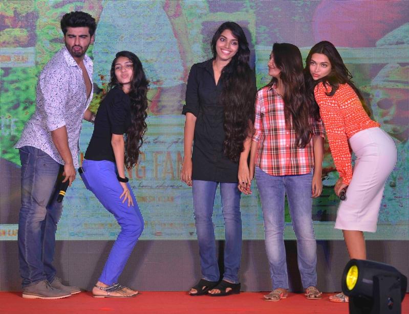 Deepika Padukone and Arjun Kapoor