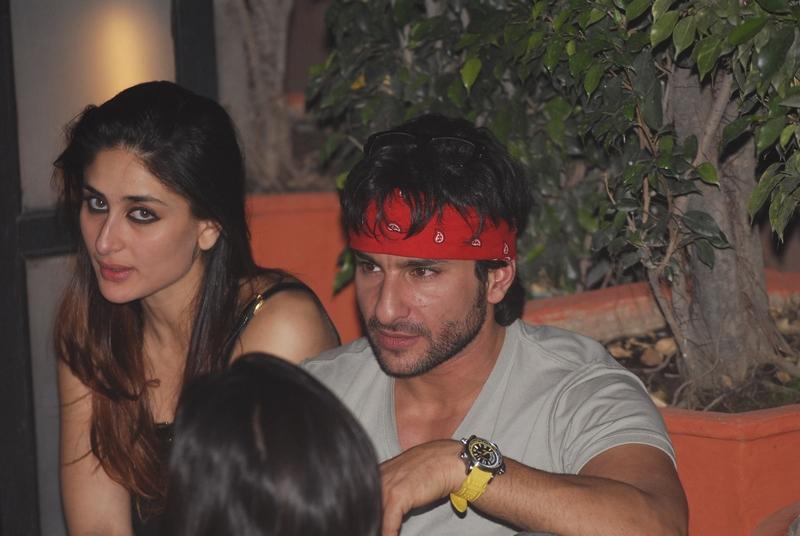 Kareena Kapoor and Saif Ali Khan