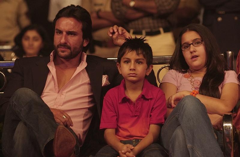 Saif Ali Khan with children