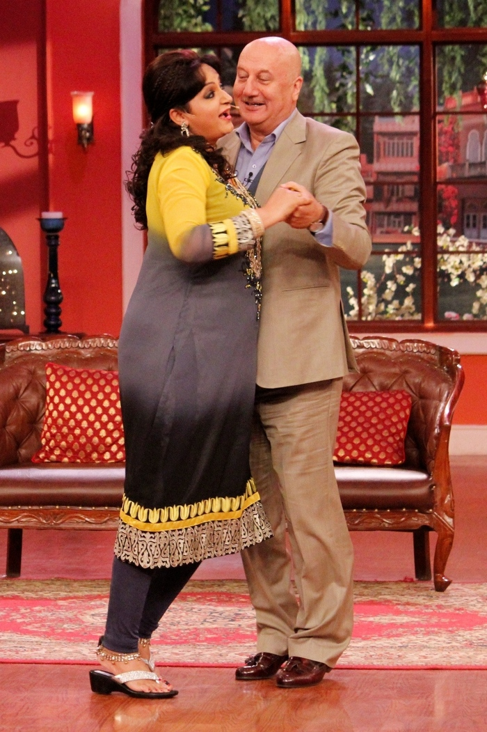 Anupam Kher on Comedy Nights With Kapil