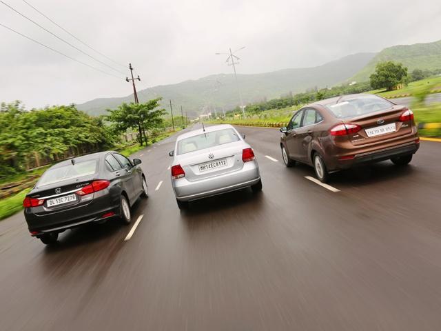 Fiesta vs City vs Vento Diesel