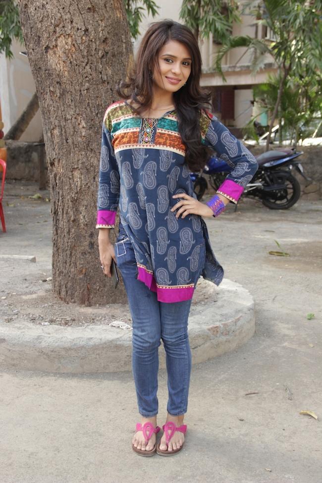 Sonal Vengurlekar aka Devyani of Shastri Sisters