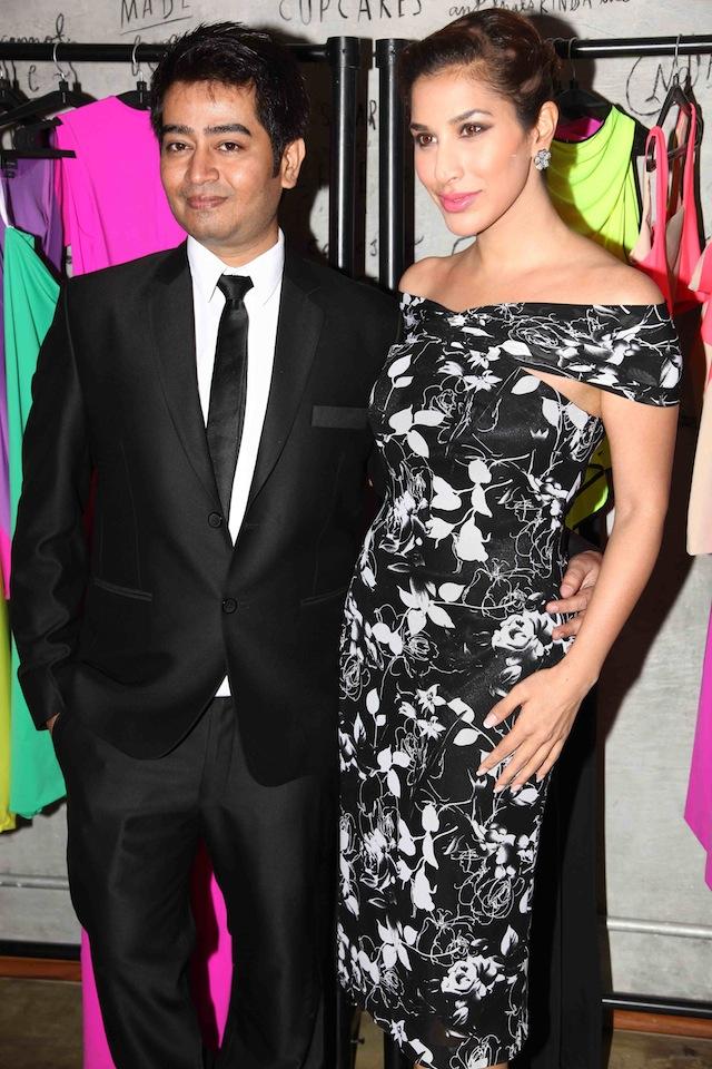 Designer Harsh Gupta with Sophie.