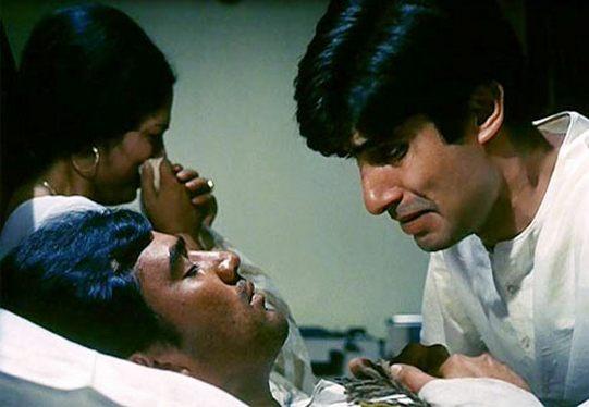 Rajesh Khanna and Amitabh Bachchan in Anand