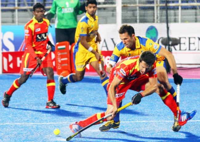 Ranchi Rhinos v Jaypee Punjab Warriors