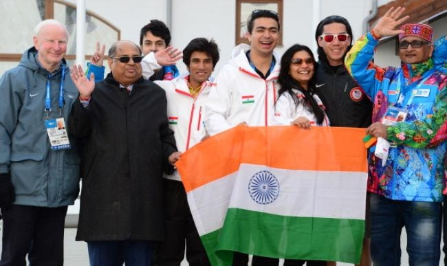 PICS: Indian Tri-Colour Raised at Sochi Winter Olympics