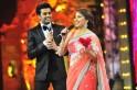 Manish Paul and Madhuri Dixit Nene