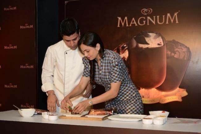 Chef Kunal Kapur with Maria Goretti