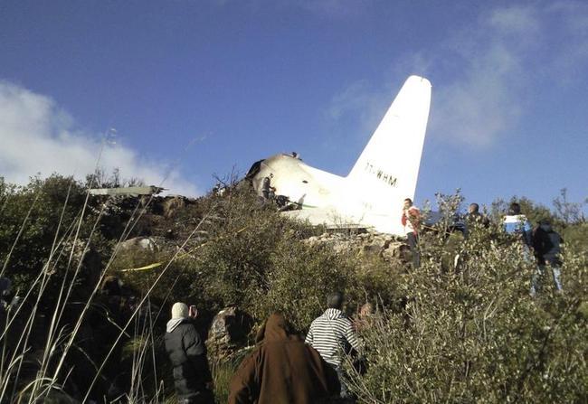 Algeria Plane Crash