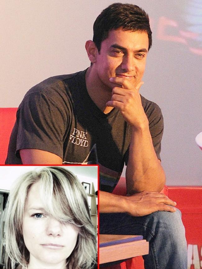Aamir Khan & Jessica Hines