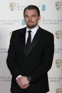 Actor Leonardo DiCaprio poses for a photograph at the British Academy of Film and Arts awards ceremony at the Royal Opera House in London