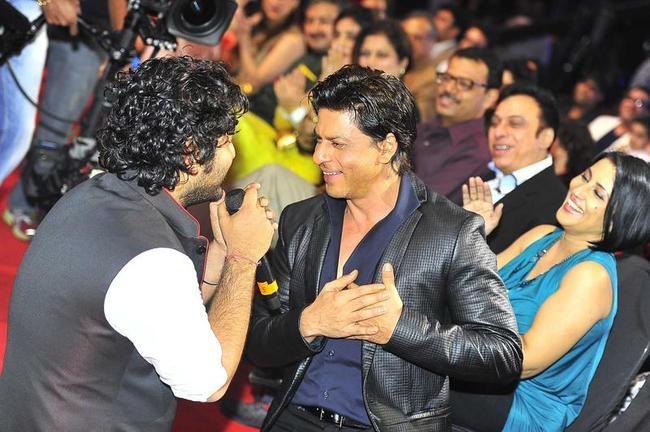 Shah Rukh Khan and Arijit Singh