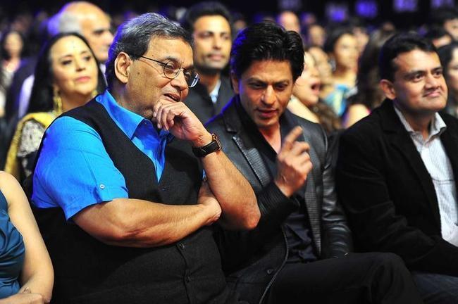 Shah Rukh Khan and Subhash Ghai