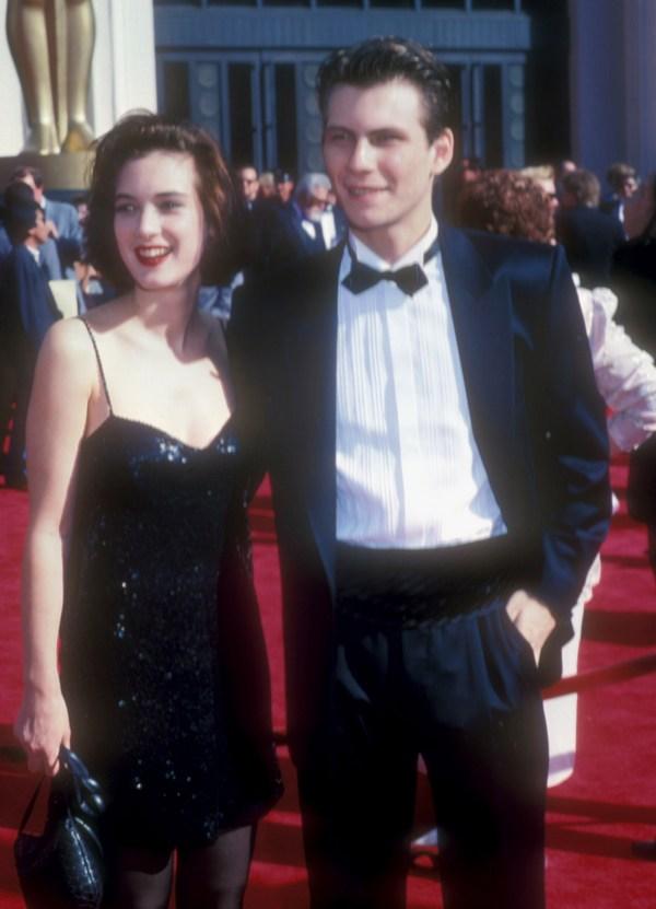 Winona Ryder at 1989 Oscars