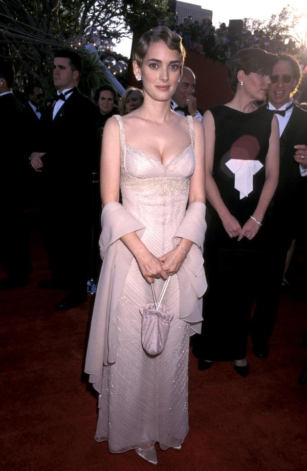 Winona Ryder at 1996 Oscars
