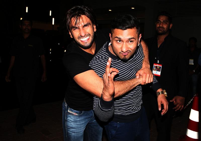 Ranveer Singh and Yo Yo Honey Singh