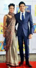 Farhan Akhtar and Adhuna Akhtar