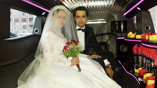 Veena Malik and Asad Bashir Khan