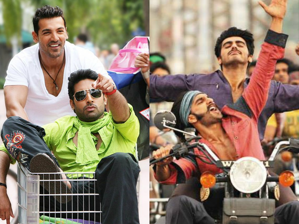 Friday's release Gunday celebrates bromance like never before and so we decided to look back at some of cinema's most endearing male pairings...
