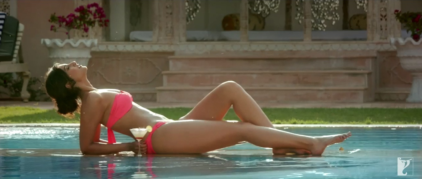 Sonam Kapoor dons a bright pink bikini for her upcoming film 'Bewakoofiyaan' and the actress owns the two-piece