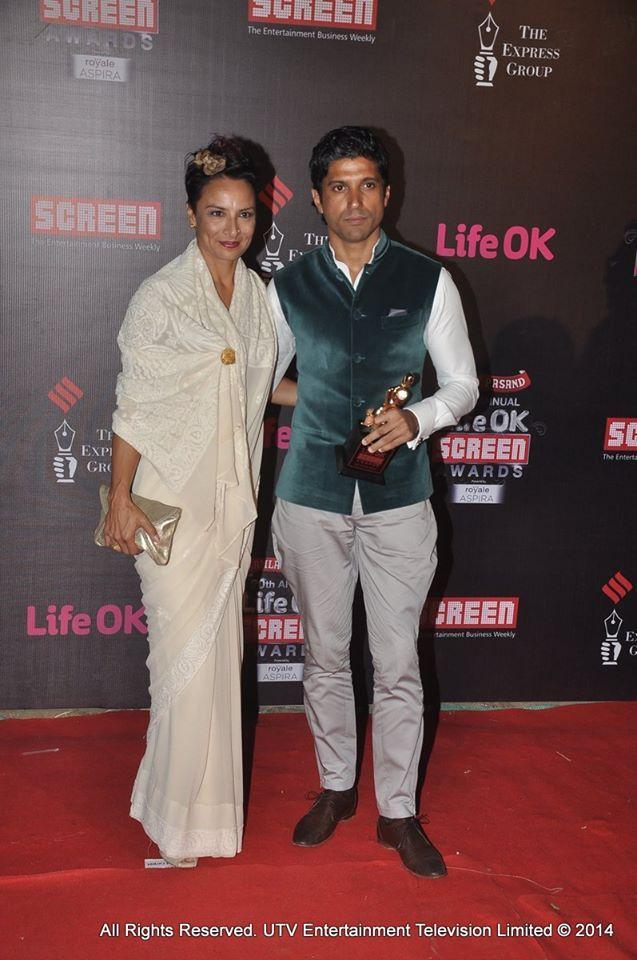Farhan and Adhuna Akhtar