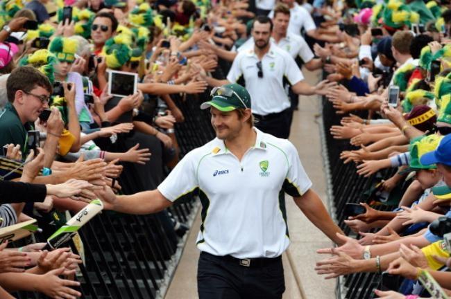 Australian Ashes Team Celebrations