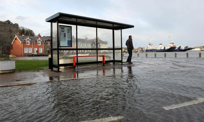 Storms, Floods Ravage England