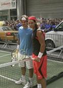 NYC Street Slam - Roger Federer vs Rafael Nadal - August 24, 2006