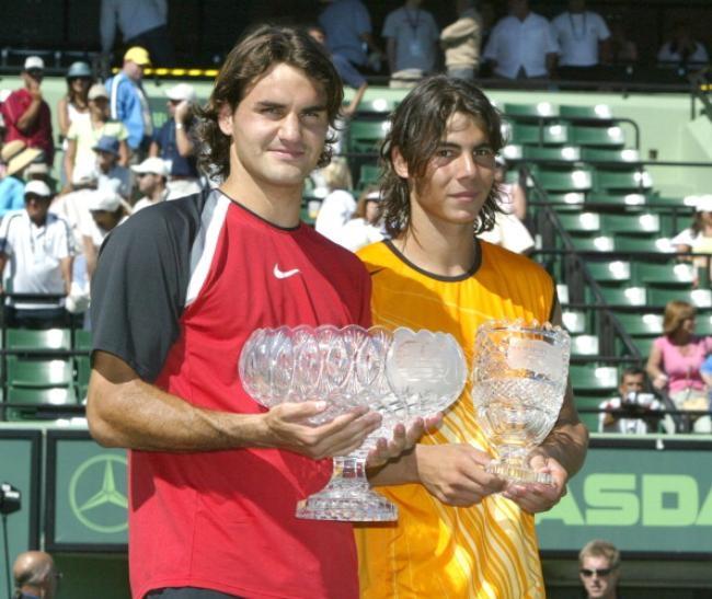 Nasdaq-100 Open - Mens Final - Roger Federer vs Rafael Nadal - April 3, 2005