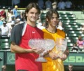 Nasdaq-100 Open - Mens Final - Roger Federer vs Rafael Nadal - April 3, 2005