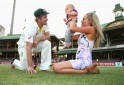 Australian Players Celebrate Ashes Win With Family, Kids
