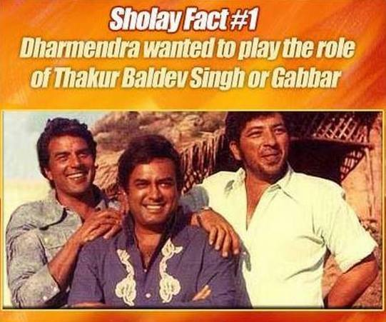 As Sholay 3D releases on January 3, we bring you some fun facts about the film...