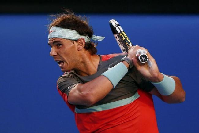 Nadal broke Federer