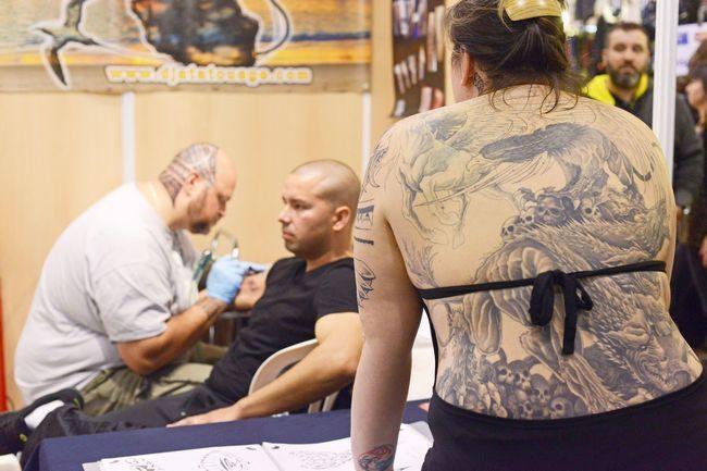 Tattoo Fair in France