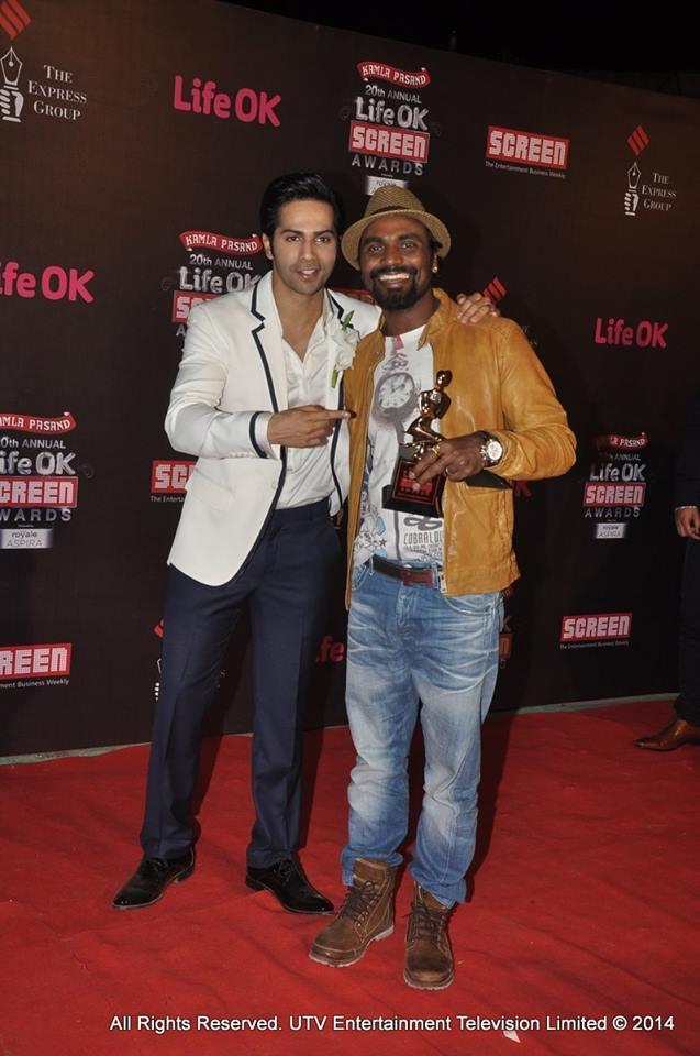 Varun Dhawan and Remo