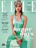 Alia Bhatt for Elle