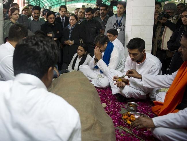 Sunanda Pushkar's last rites