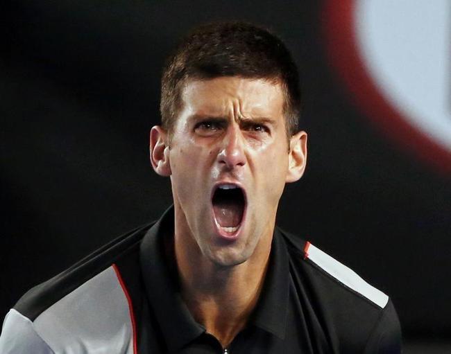 Djokovic Won the First Set 6-2