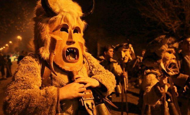 Bulgarian Festival Kukeri