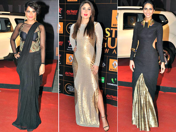 It's the awards season, and honestly, more than anything we're interested in checking out who's wearing what and of course, scouting for the latest trends. At the Renault Star Guild Awards it was all glitter and glamour as a lot of actresses opted for the power combination of gold and black.