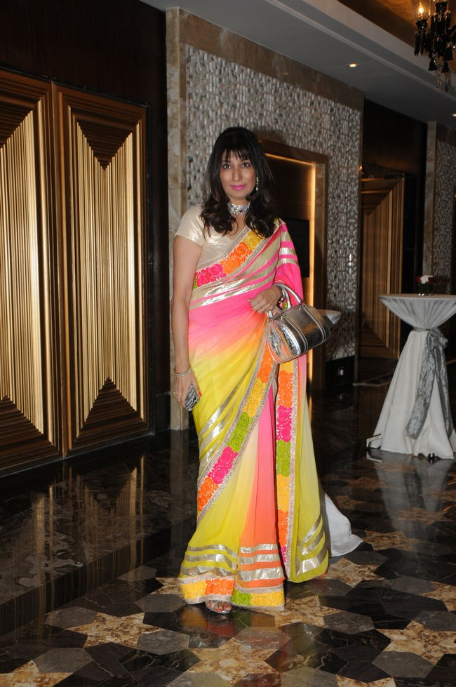 Renowned gynaecologist Dr Rishma Dhillon Pai launched her book 'Fit at 40' at Hotel Palladium in Mumbai
