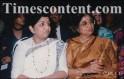 Lata Mangeshkar and Usha Mangeshkar