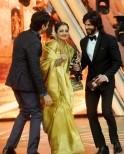 Farhan Akhtar, Shahid Kapoor and Rekha